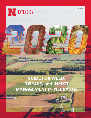 2017 Guide for Weed, Disease, and Insect Management in Nebraska