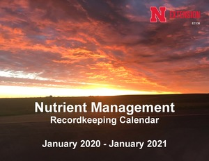 2017 Nutrient Management Record Keeping Calendar