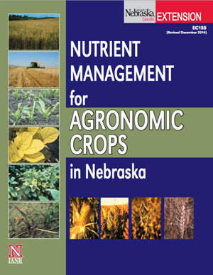 Nutrient Management for Agronomic Crops in Nebraska