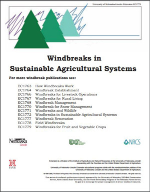 Windbreaks in Sustainable Agricultural Systems