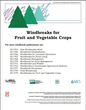 Windbreaks for Fruit and Vegetable Crops