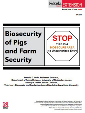 Biosecurity of Pigs and Farm Security