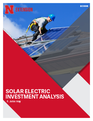 Solar Electric Investment Analysis (EC3008)