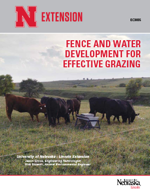 Fence and Water Development for Effective Grazing (EC 3035)