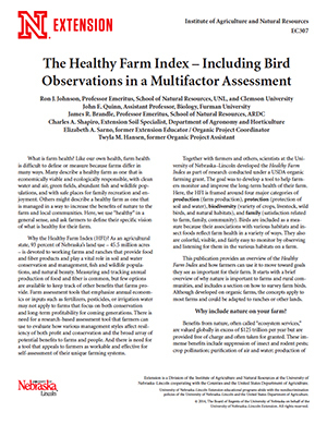 The Healthy Farm Index