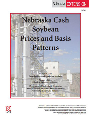 Nebraska Cash Soybean Prices and Basis Patterns