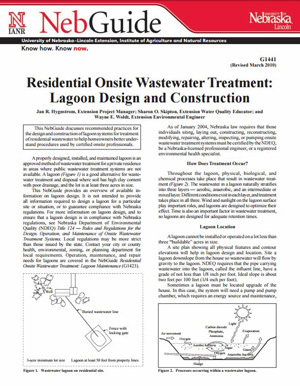 Residential Onsite Wastewater Treatment