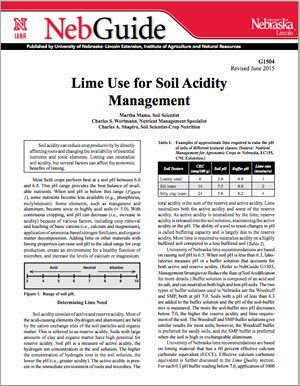 Lime Use for Soil Acidity Management
