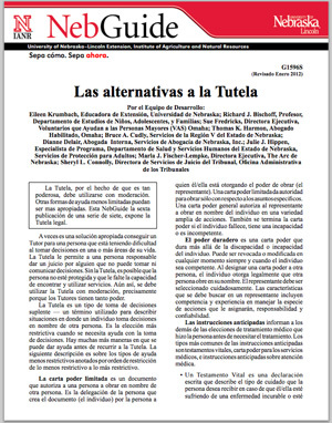 Las alternativas a la Tutela