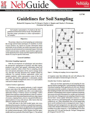 Guidelines for Soil Sampling
