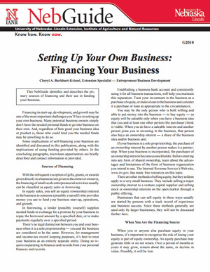 Setting Up Your Own Business