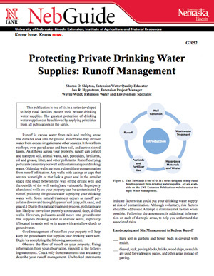 Protecting Private Drinking Water Supplies