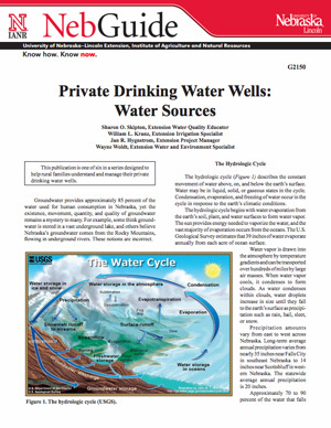Private Drinking Water Wells