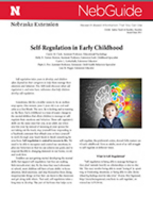 Self-­Regulation in Early Childhood