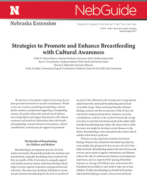 Strategies to Promote and Enhance Breastfeeding with Cultural Awareness