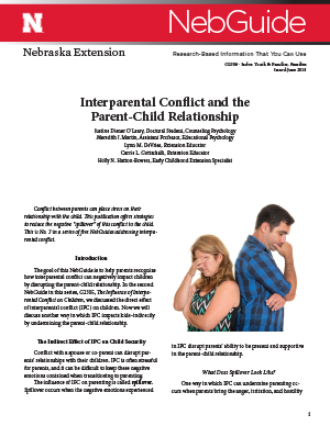 Interparental Conflict and the Parent-Child Relationship (G2306)