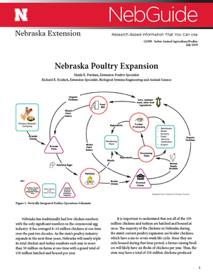 Nebraska Poultry Expansion (G2309)