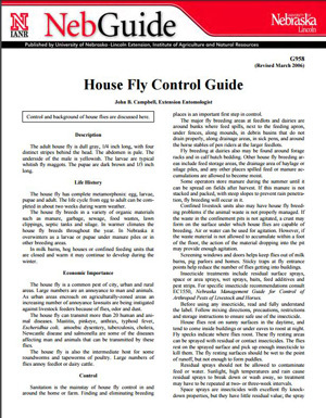 House Fly Control Guide