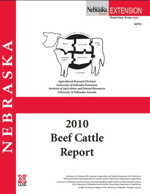 2010 Beef Cattle Report